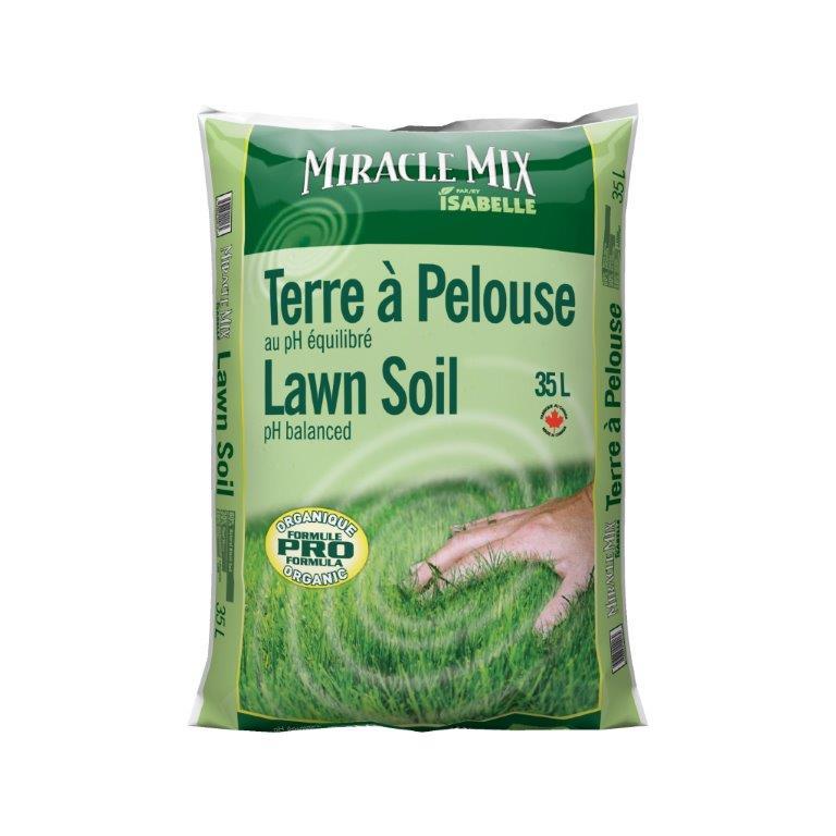 Terreau semis et pelouse les sols isabelle - Terreau pour gazon ...